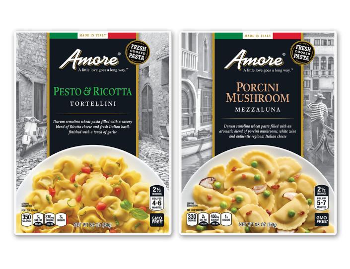 Amore Pasta Product Line Design