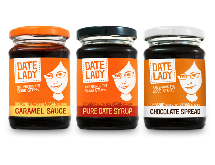 Date Lady Brand Package Design